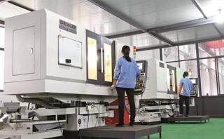 台湾富裕公司制造的高精度油压平面磨床