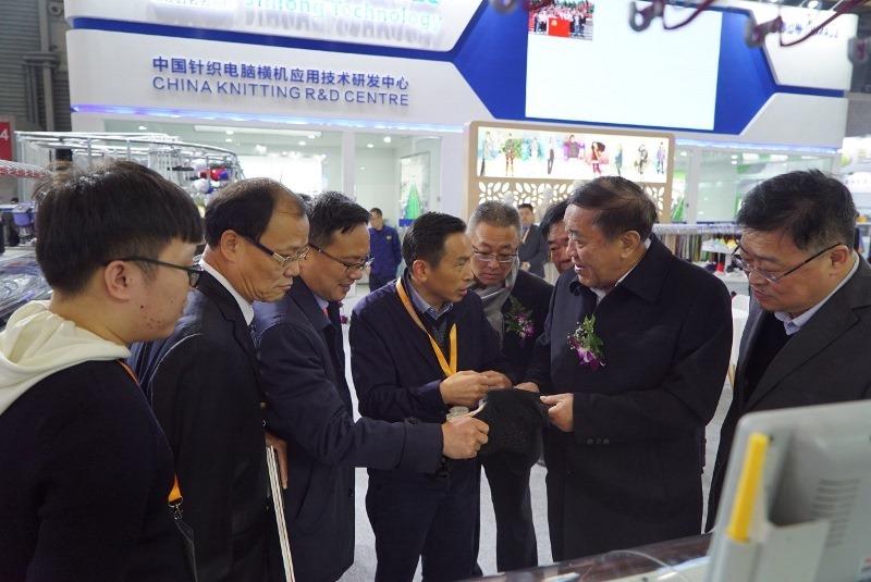 我司成功亮相2019年上海国际纺织工业展览会